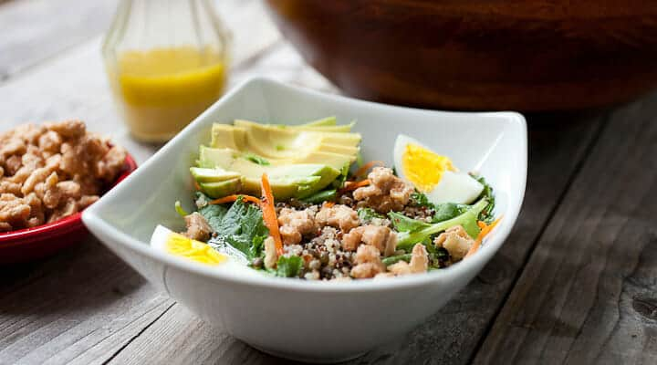 super protein chopped salad link
