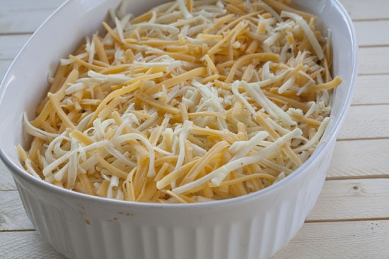 ready to bake - Baked Queso Dip