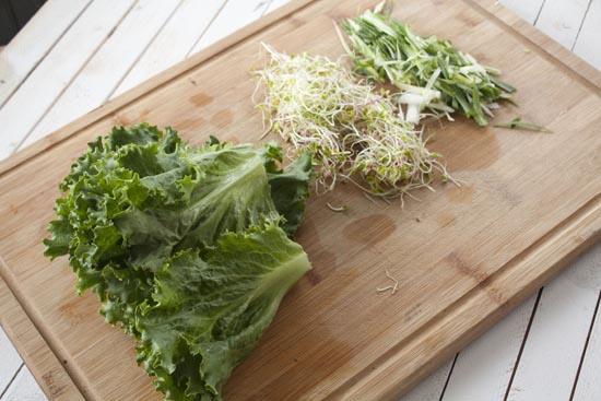 veg - Chicken Lettuce Wraps
