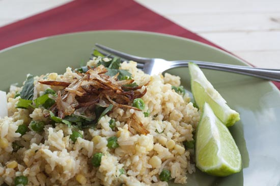 shallot - Shallot Fried Rice
