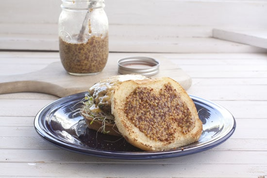 burger with Whole Grain Mustard Recipe