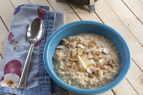 Quinoa Porridge recipe from Macheesmo