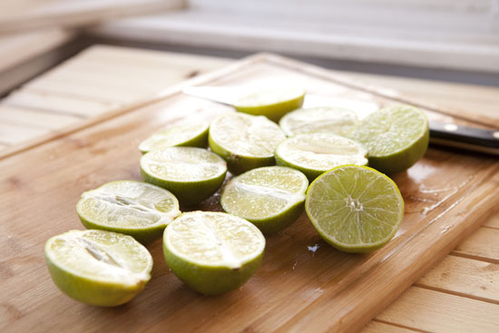 limes for Cherry Lime Jello Shots