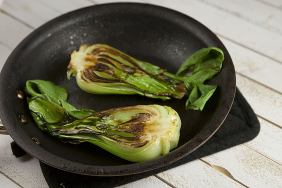 bok choy for Dashi Ramen
