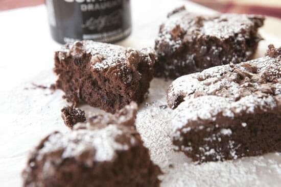 half Guinness Brownies