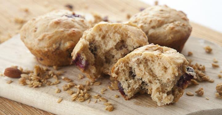 Granola Parfait Muffins