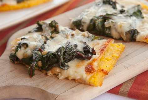 The Polenta Pizza