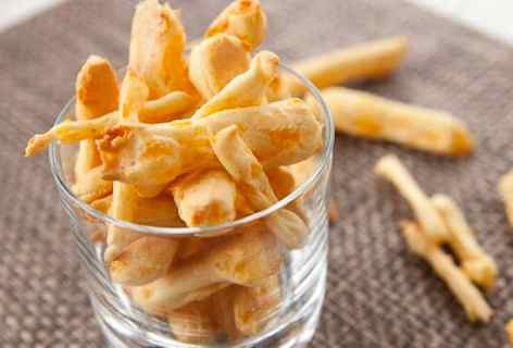Homemade Cheese Snacks