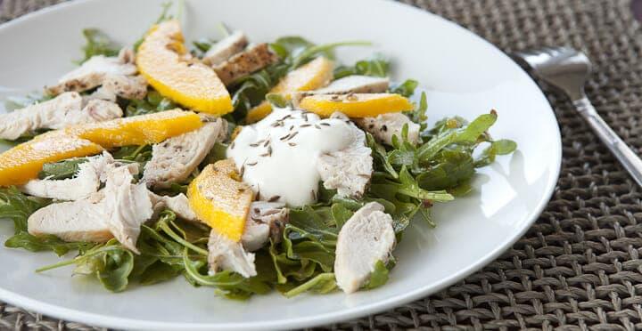 Curried Mango Chicken Salad