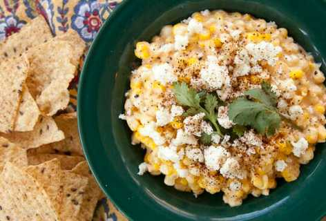 Elote Corn Dip at Home