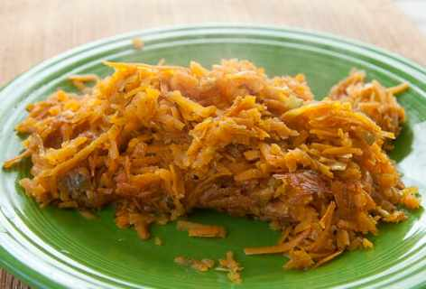 Sweet Potato Skillet Hash Browns