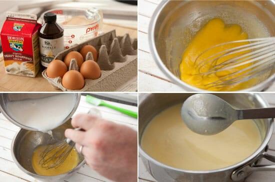 Chocolate Pretzel Ice Cream ingredients