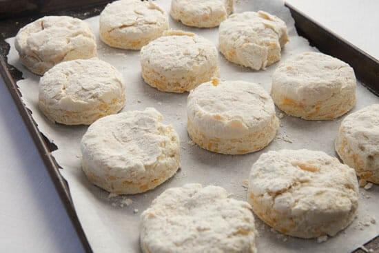 baking - Sausage Egg Biscuit
