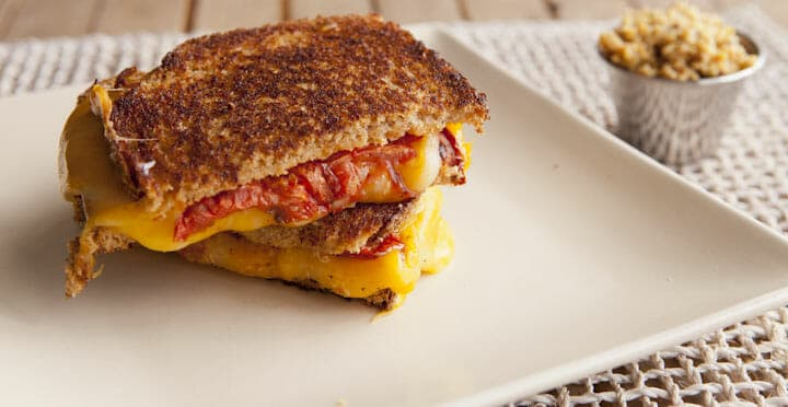 Chipotle Spiced Grilled Cheese