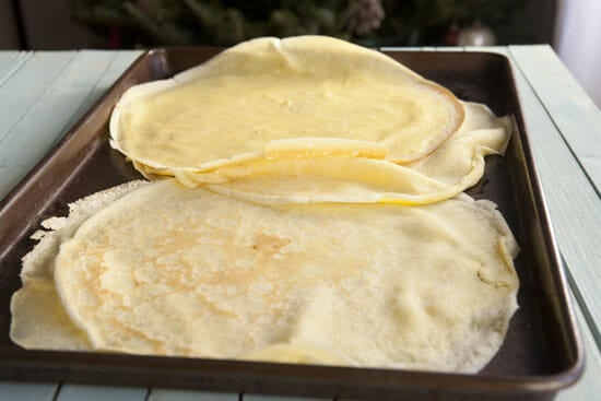 Make all the crepes!