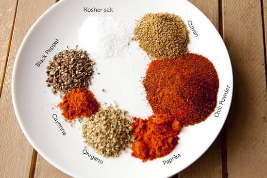 spice mix for chili gravy enchiladas