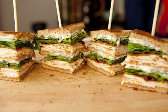 Chipotle Club Sandwich - Macheesmo