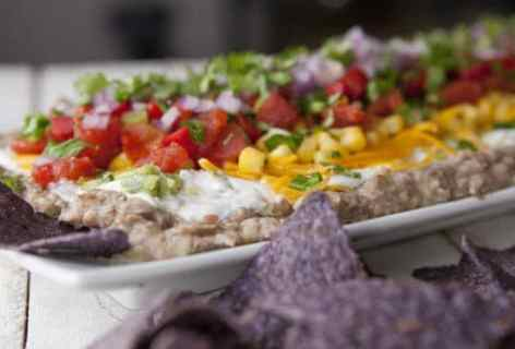 10 Vegetable Layer Dip