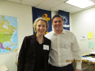 With the Executive Director of Maryland's Homeless Persons Representation Project, Antonia K. Fasanelli