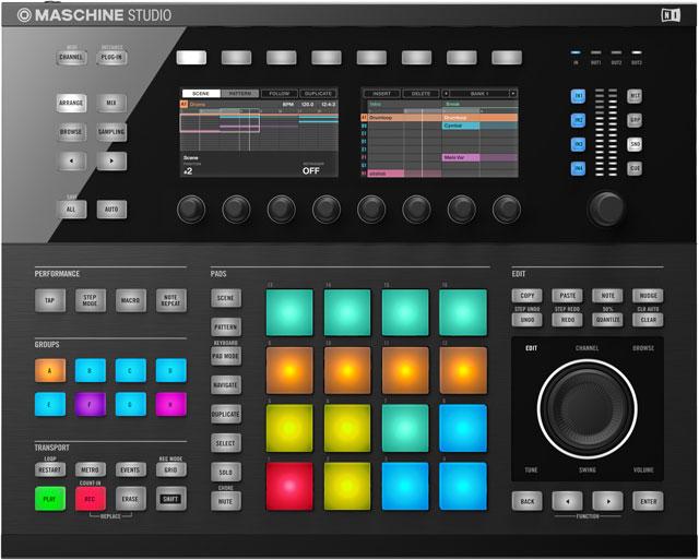 NI Unveils Maschine Studio and Maschine 2.0 Software