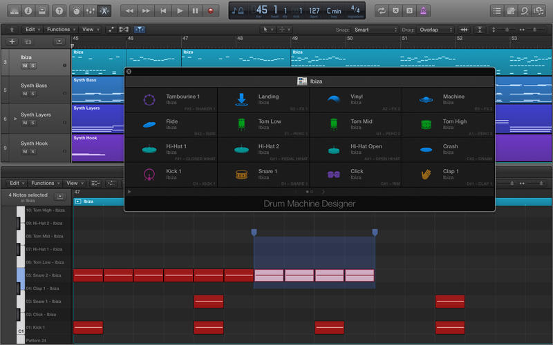 Logic Pro X 10.1 Adds Drum Machine Designer, Plug-In Manager & More