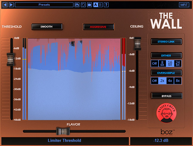 Boz Digital Labs new limiter The Wall now available