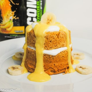 Banana Cream Pie Mug Cake