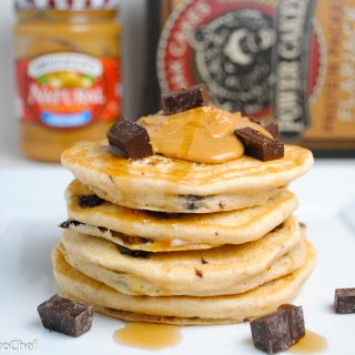 Buttermilk Chocolate Chunk Protein Pancakes