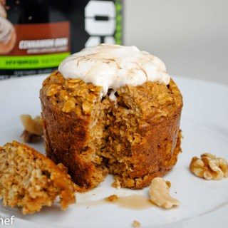 Gingerbread Protein Baked Oatmeal