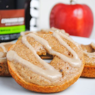 Apple Cinnamon Protein Donuts