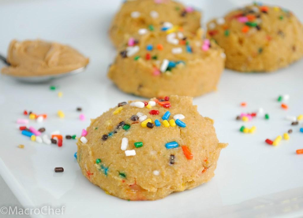 Confetti Cake Protein Cookies