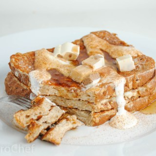 Churro Protein French Toast