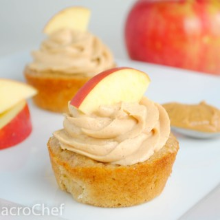 Apple Peanut Butter Protein Cupcakes