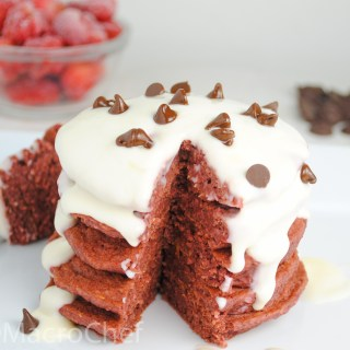 Superfood Red Velvet Protein Pancakes