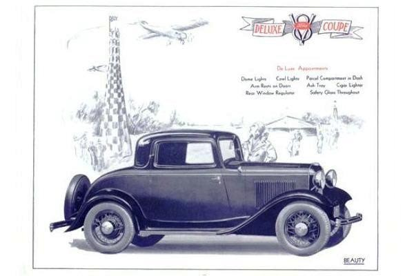 1932 Ford Deluxe Coupe air races