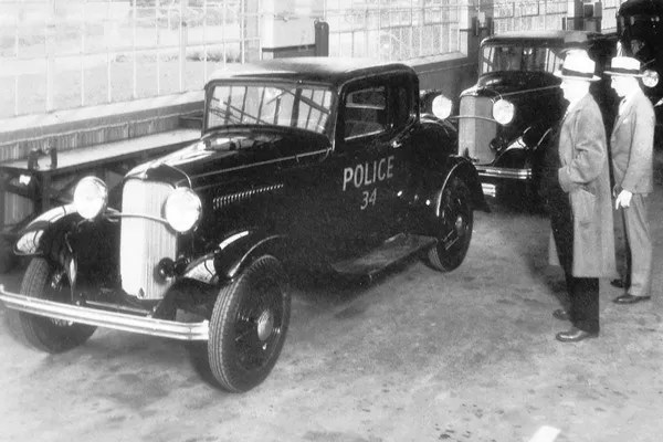 1932 Ford Model B Standard Coupe Police