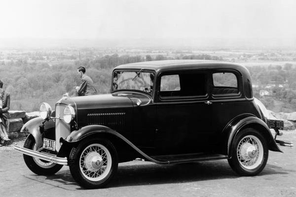 1932 Ford Victoria vista