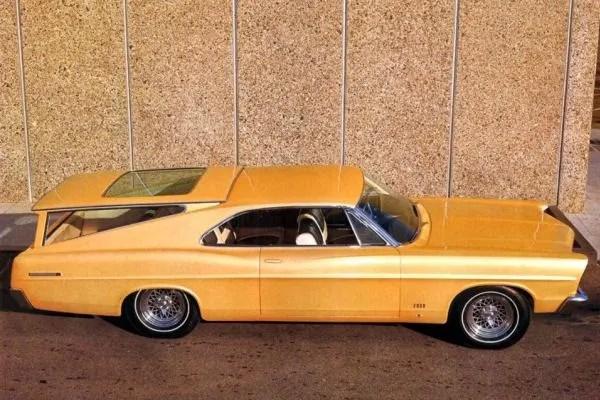 1967 Ford Galaxie 500 Magic Cruiser II hartop-wagon transformable