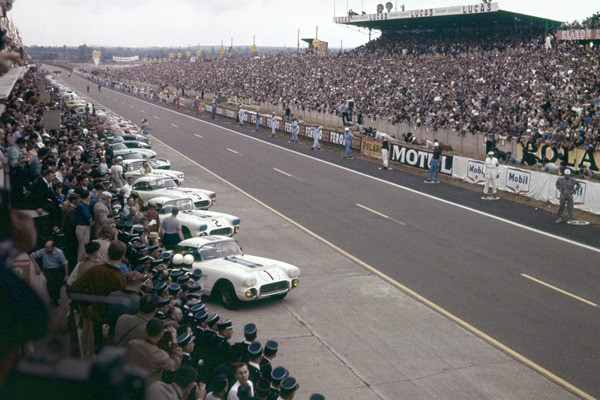 1960 Corvettes at Le Mans