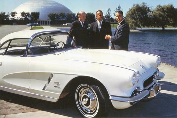 Alan B. Shepard - William L. Mitchell - Edward N. Cole - 1962 Corvette