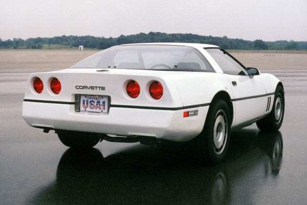 1984 Chevrolet Corvette white