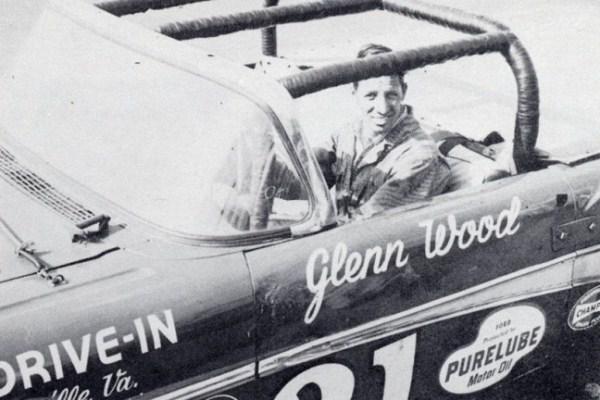 Glen Wood 21 1958 Ford driver shot