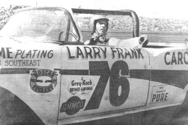 Larry Frank 76 1958 Ford