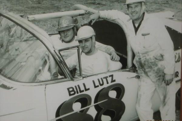 Lee Petty Bill Lutz Ralph Earnhardt 1957 Oldsmobile 88