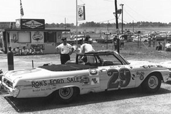 Nelson Stacy 29 1962 Ford Rebel 300 winner 1962