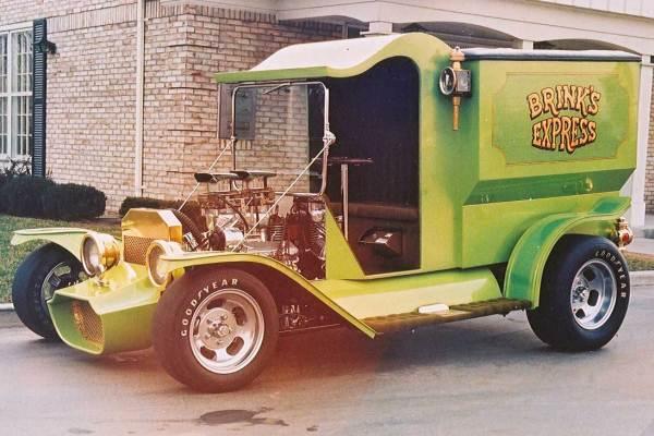 1971 John Greer C-Cab truck Brink's Express