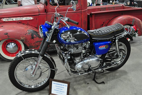 Terry Lewis 1968 Kawasaki W1
