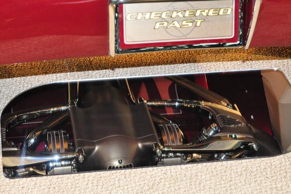 rear suspension detail