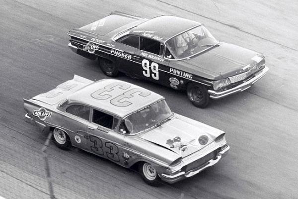1958 Ford Ed Kozbiel 1960 Pontiac Paul Goldsmith 99 Milwaukee 1960