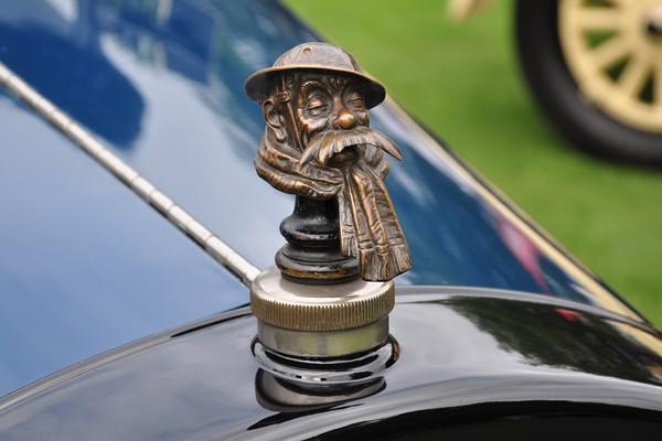 1922 Lincoln Type 112 Sport Phaeton David Schultz mascot